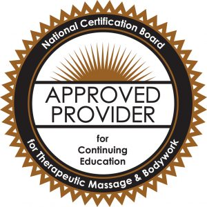 NCBTMB, approved provider,