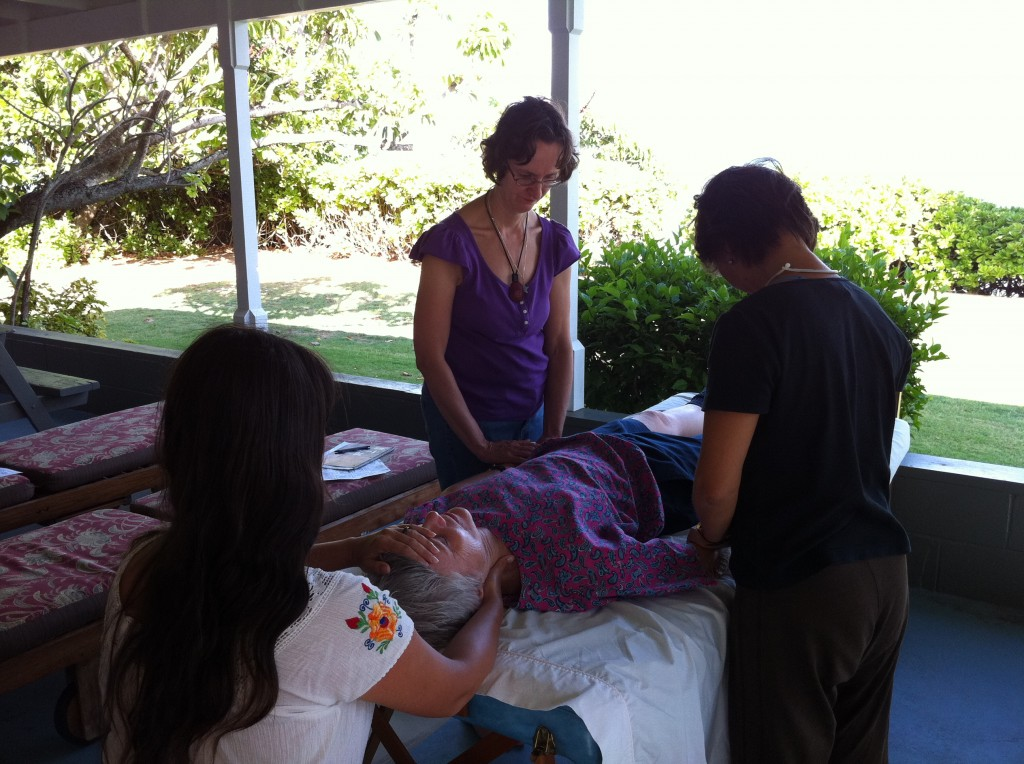 Reiki class photos, Reiki One, Molokai, Hawaii